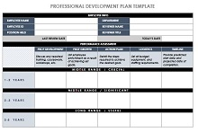 IC Professional Development Plan Template