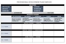 IC Professional Development Plan Template