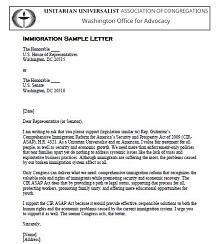 Immigration letter 13