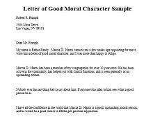 Sample Letter Of Good Moral Character from excelshe.com