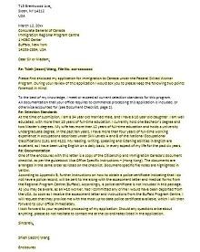 Immigration letter 22
