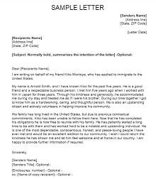 Immigration letter 26