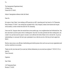 Immigration letter 27