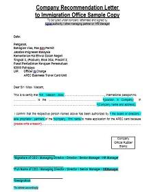 Immigration letter 28