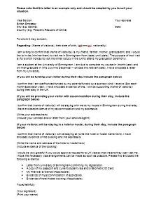 Immigration letter 29