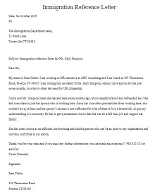 Immigration letter 31
