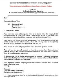 immigration letter sample