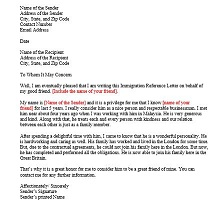 Immigration letter 34
