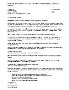 Immigration letter 37