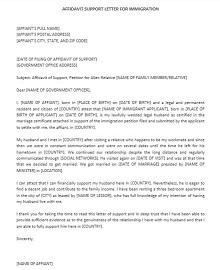 Immigration letter 39