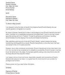 Immigration letter 40