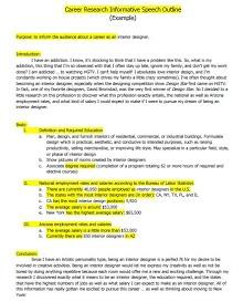 global warming informative speech outline