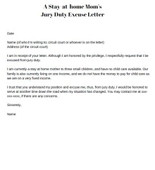 jury duty medical excuse letter template