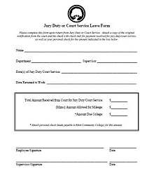 Jury duty excuse letter template 10