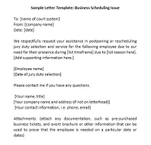 Jury duty excuse letter template 28