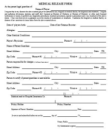 example of medical release form