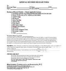 medical release form for children traveling without parents