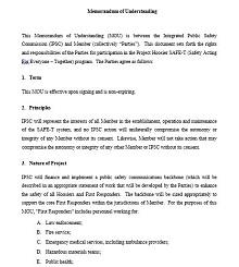 Memorandum of Understanding Template 32