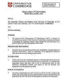 Memorandum of Understanding Template 33