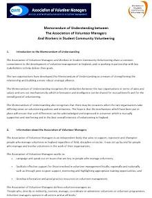 Memorandum of Understanding Template 34