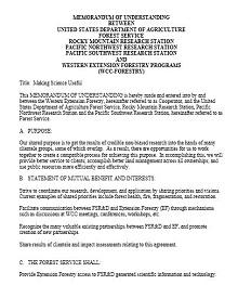 Memorandum of Understanding Template 35