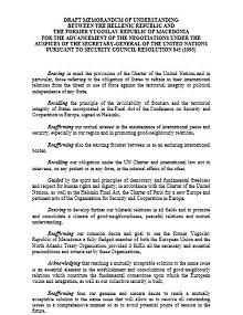 Memorandum of Understanding Template 43
