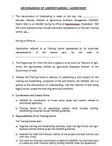 Memorandum of Understanding Template 44