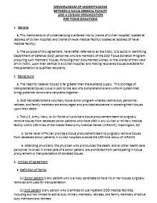 Memorandum of Understanding Template 47