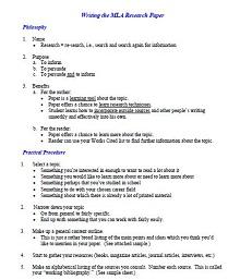 Mla format template 27