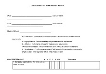 Performance Review Form Final