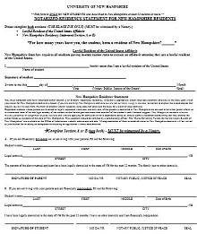 proof of residency letter texas