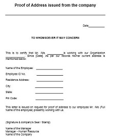 how to write a proof of residency letter from owner