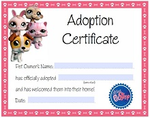 photograph relating to Free Printable Adoption Certificate referred to as 40+ Adoption Certification Template (PDF, Phrase) 2019 » ExcelSHE