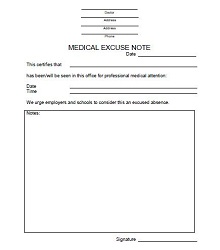 Doctors note template 23