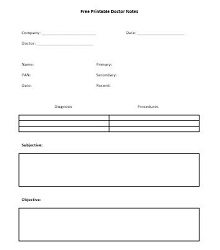 Doctors note template 29