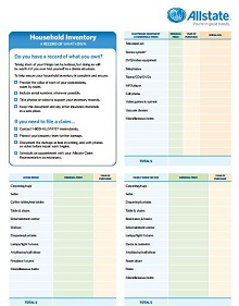 Inventory list template 11