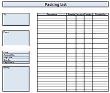 Packing slip template 12