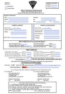Police report template 20