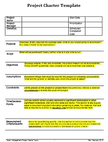 Project Charter Template 11
