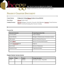 Project Charter Template 15