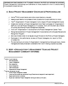 Project Charter Template 18
