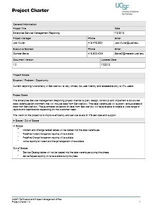 Project Charter Template 22