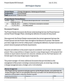 Project Charter Template 33