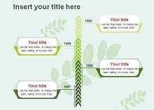 vertical timeline in word