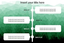 vertical timeline powerpoint