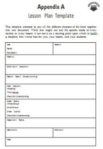 Lesson plan template 10