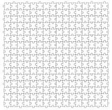 Puzzle piece template 02