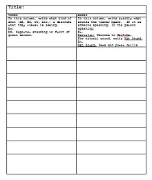 screenplay template pages