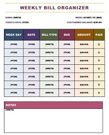 rapid planning method excel templates