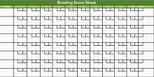 printable bowling score sheet excel